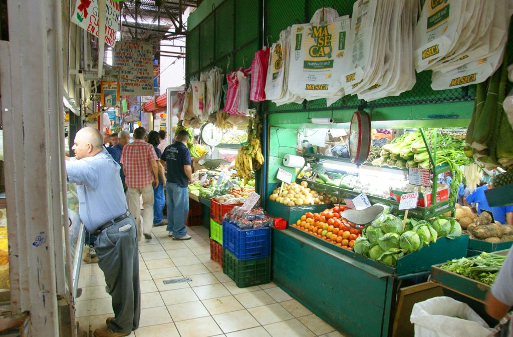 Центральный рынок в Сан Хосе, Коста-Рика
