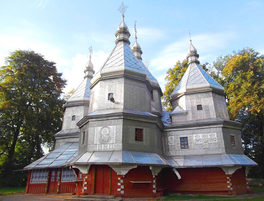 Церковь Рождества Пресвятой Богородицы, с. Нижний Вербиж, Ивано-Франковская область