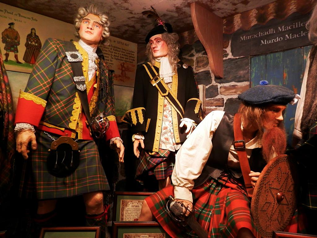 Текстильный музей шотландки (Tartan Weaving Mill & Exhibition) в Эдинбурге