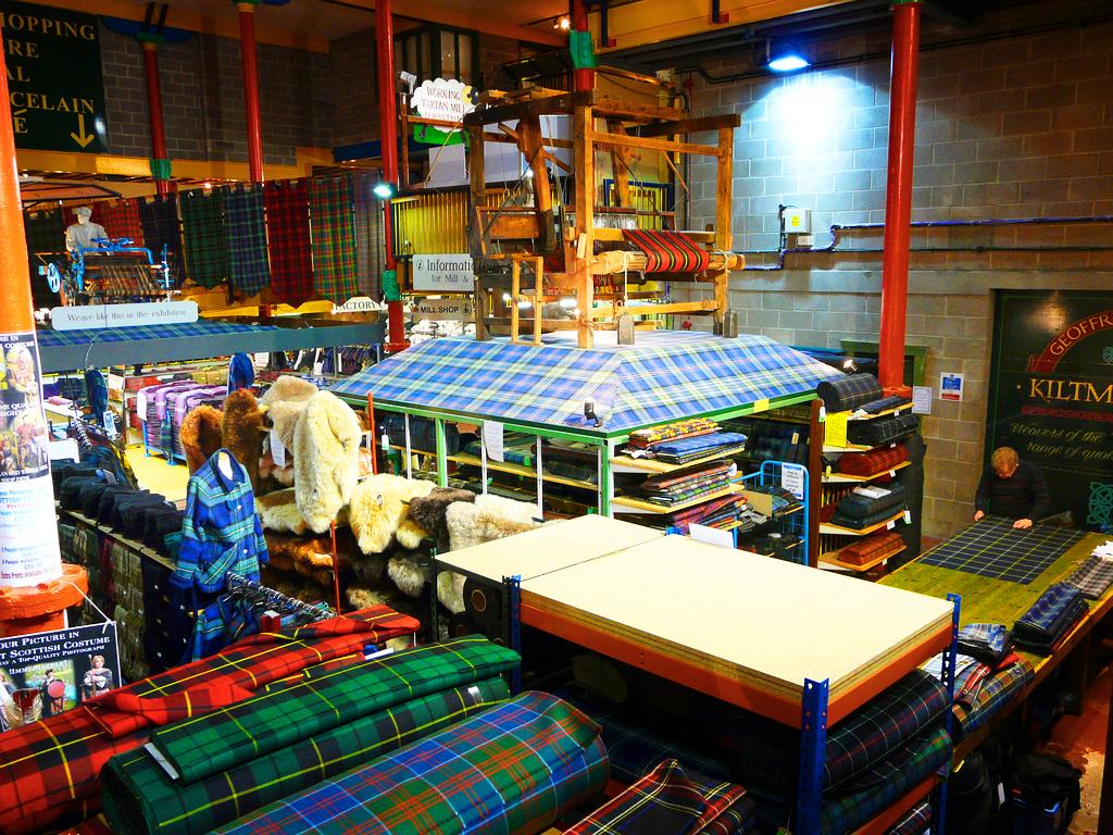 Текстильный музей шотландки (Tartan Weaving Mill & Exhibition)