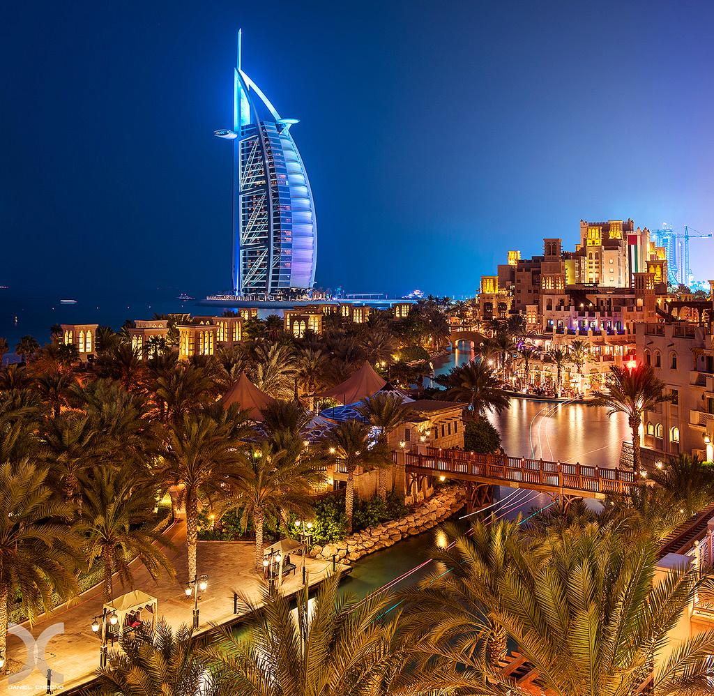 Отель Бурдж Аль Араб (Парус) в Дубаи