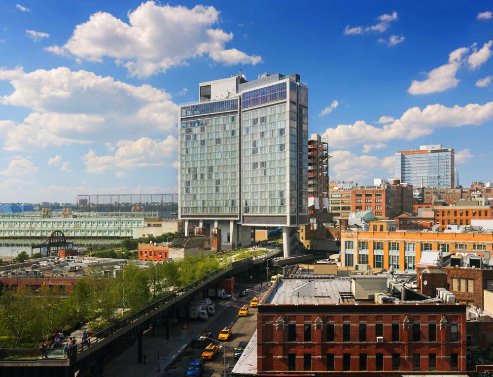 Гостиница The Standard, High Line в Нью-Йорке