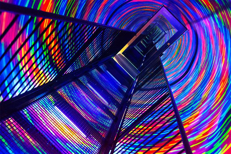 Туннель времени в музей Камера-обскура и мир иллюзий