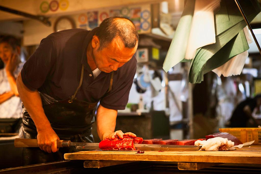 Рынок Цукидзи в Токио
