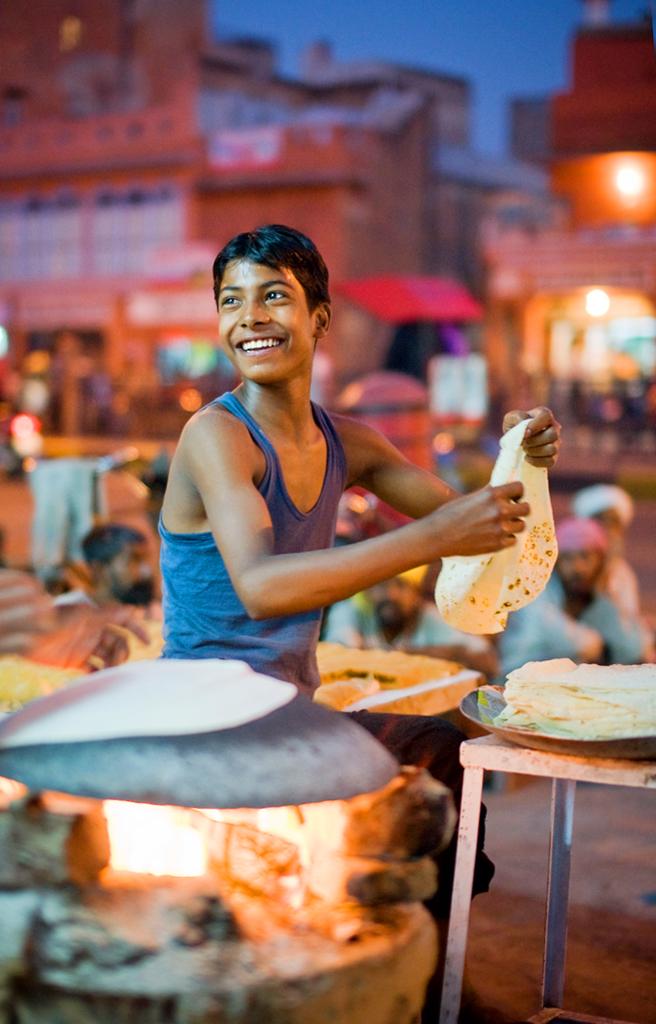 Уличная еда, Удайпур, Индия