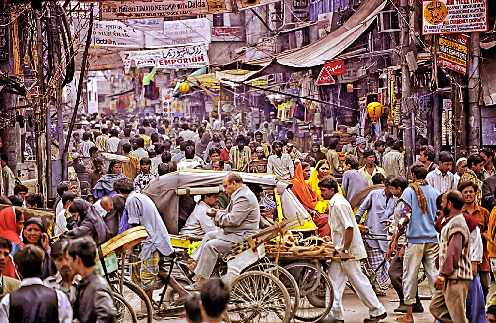 Улица в Мумбаи, Индия