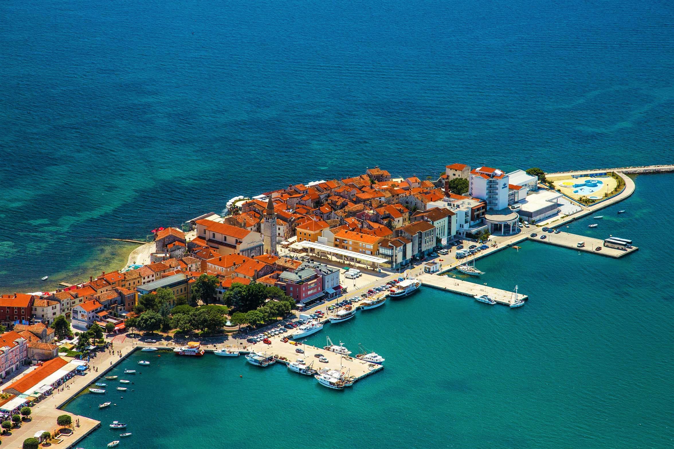 Umag Отдых в Хорватии туры хорватию хорватия Отдых в Хорватии — 9 курортных мест Адриатического побережья Umag