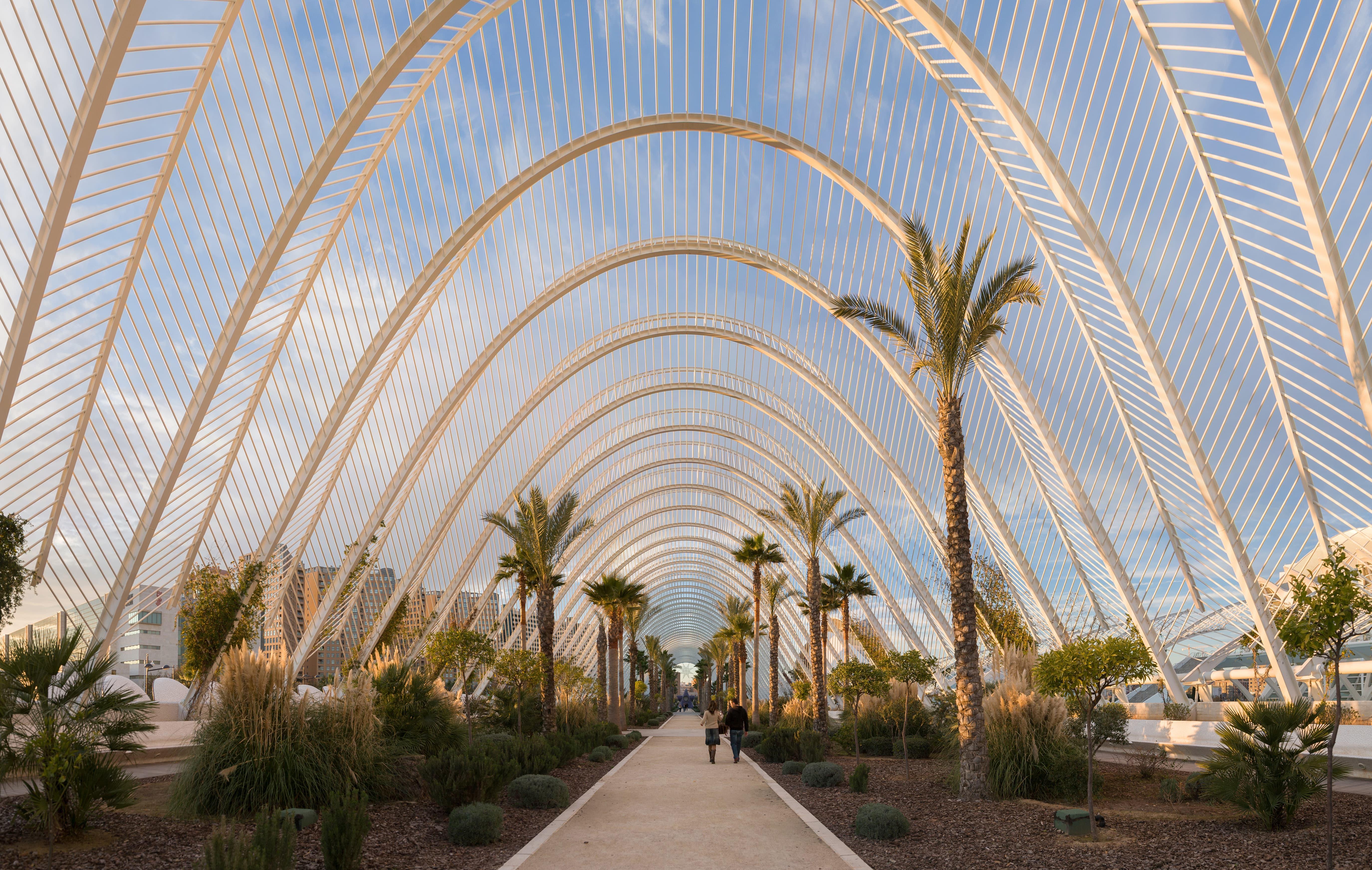 L'Umbracle в Валенсии