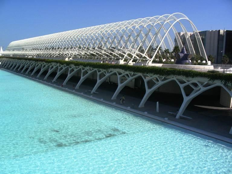 Сад Умбракл в Валенсии