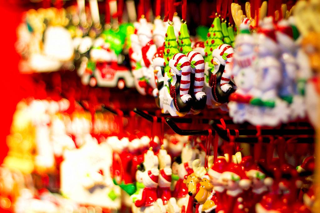 Рождественская ярмарка на Юнион-сквер в Нью-Йорке