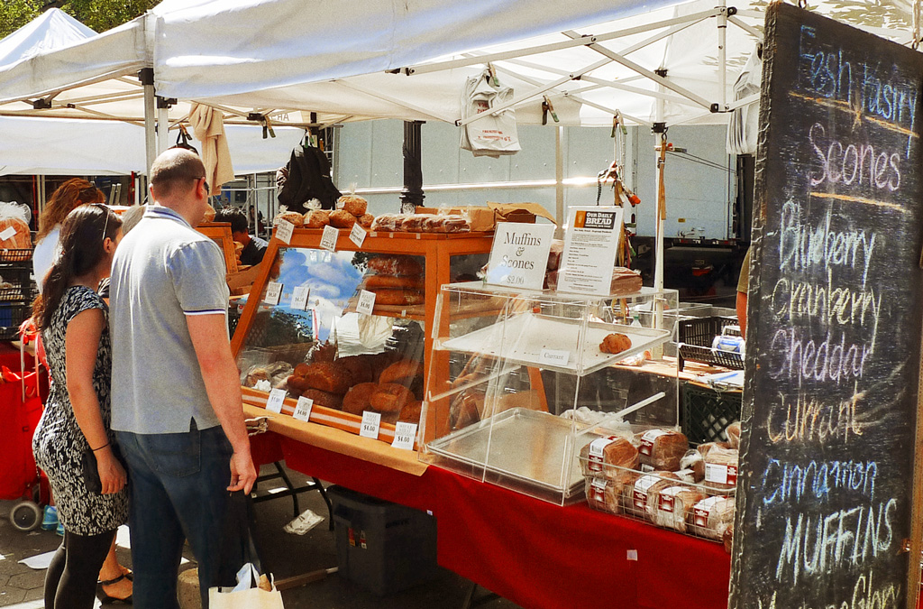 Рынок Юнион-Сквер, Нью-Йорк