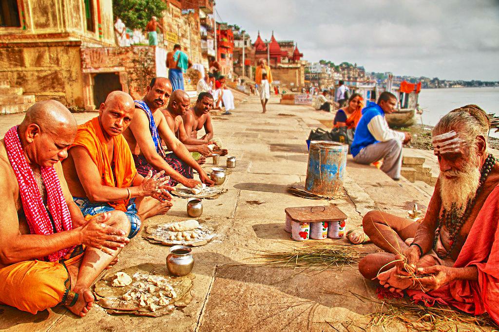 Варанаси, река Ганг, Индия