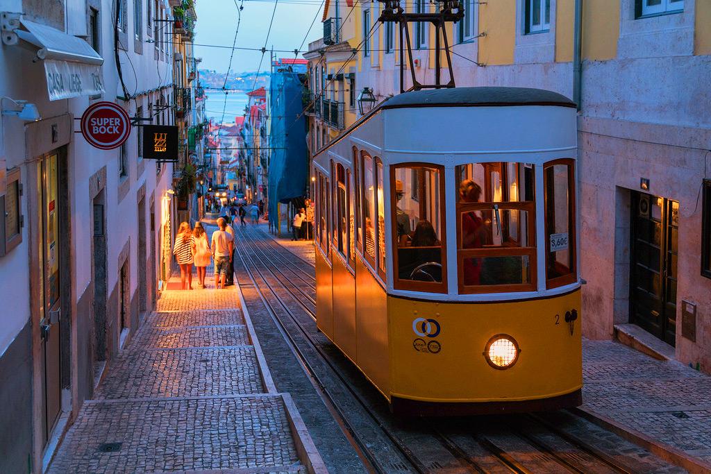 Вечерний Байрру-Алту (Лиссабон)