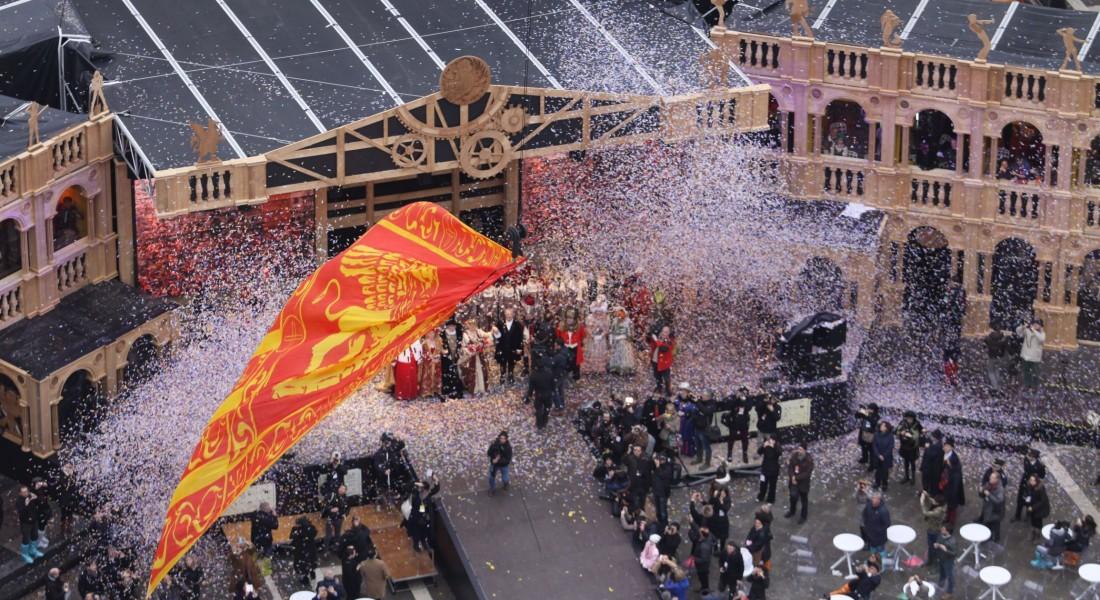 Полет Льва - Закрытие Венецианского карнавала