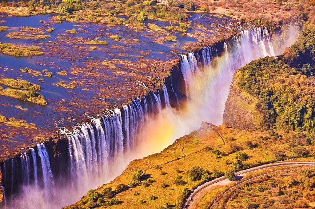 Водопад Виктория в Южной Африке