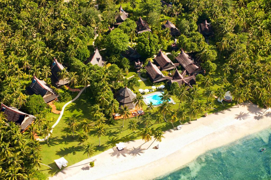 Вид на Dedon Island Resort, Dapa, Филиппины