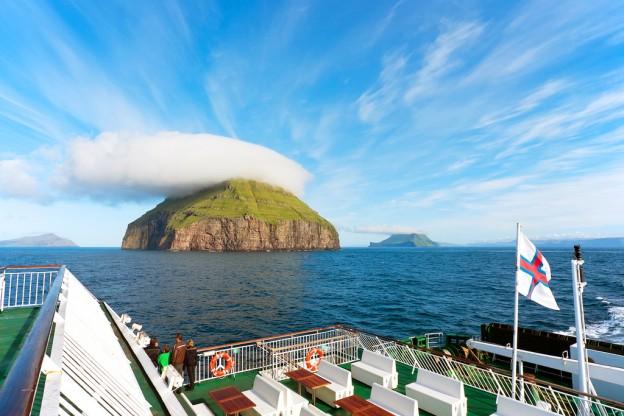 Вид на остров Луйта-Дуймун