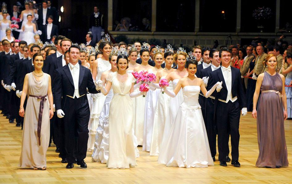 Оперный бал в Вене