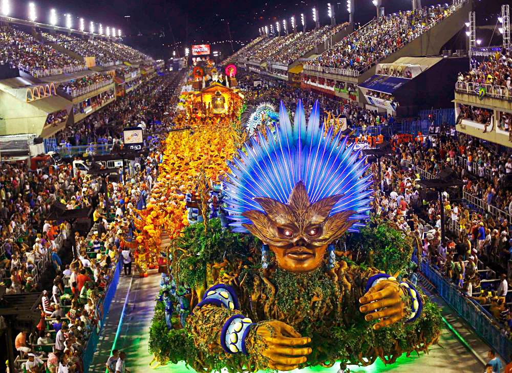 Карнавал в Бразилии 2015, Рио-де-Жанейро