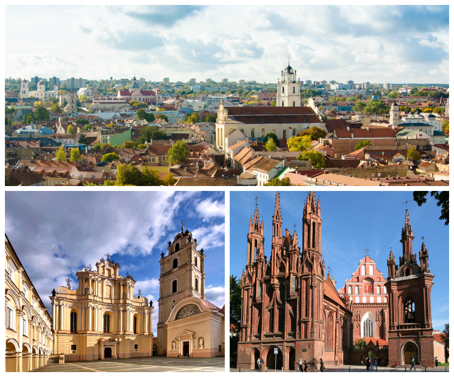 Архитектура Вильнюса