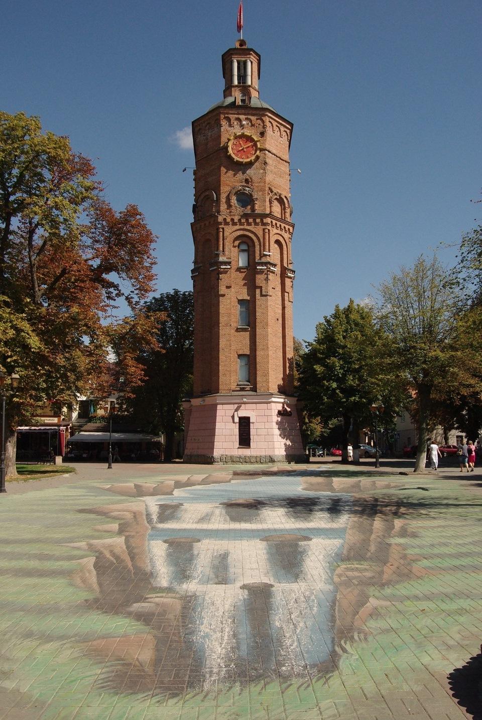Винницкая водонапорная башня