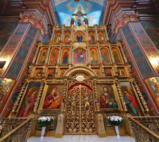 Винницкий Преображенский собор, иконостас