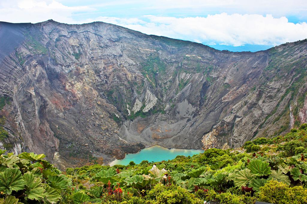 Вулкан Ирасу, Коста-Рика