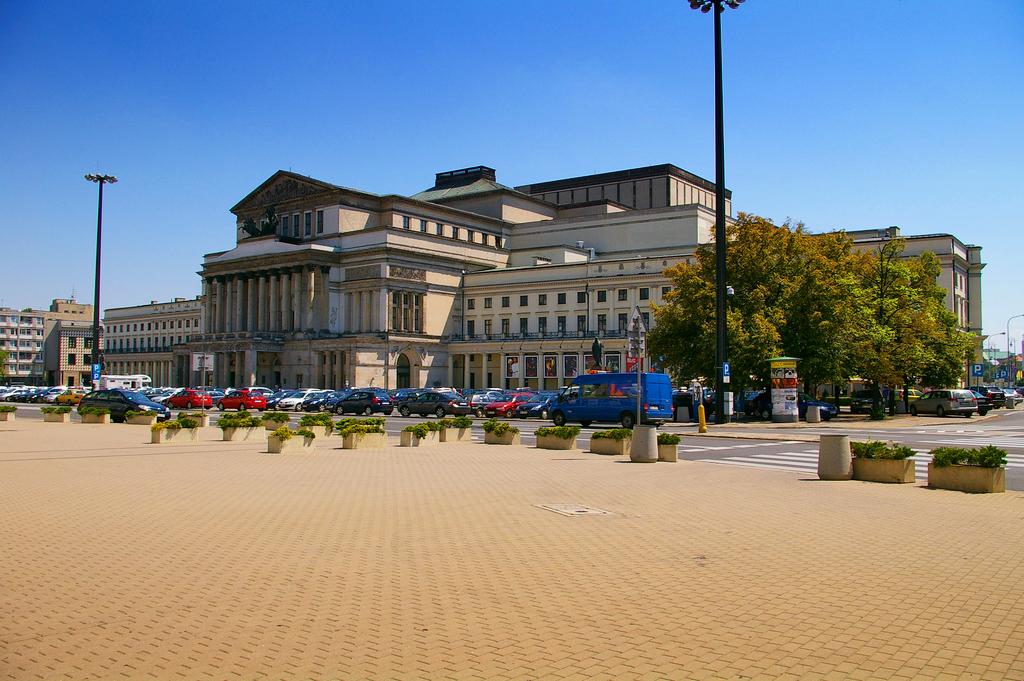 Театральная площадь в Варшаве