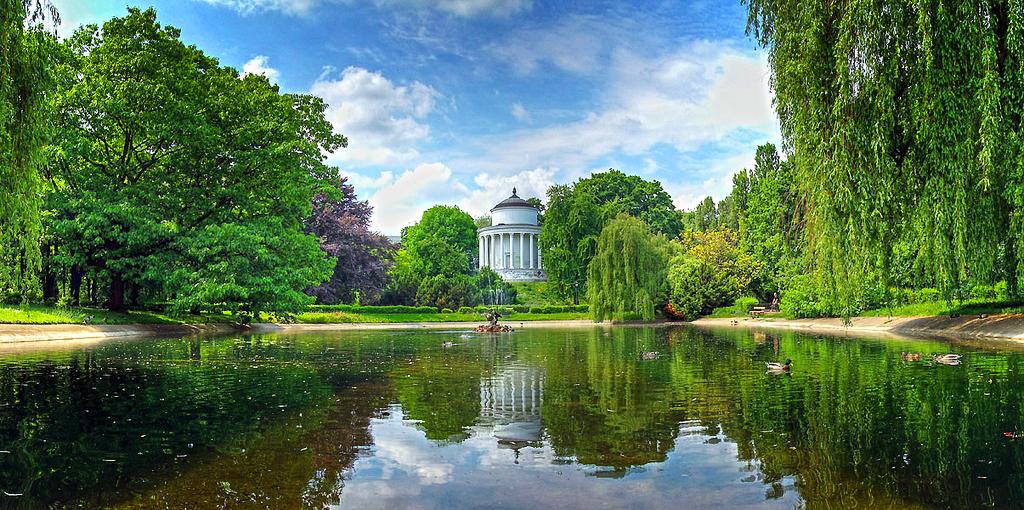 Саксонские сады в Варшаве