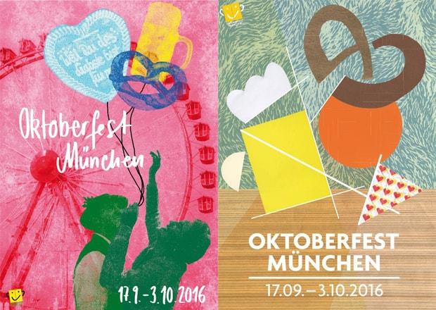 Плакаты Октоберфест 2016