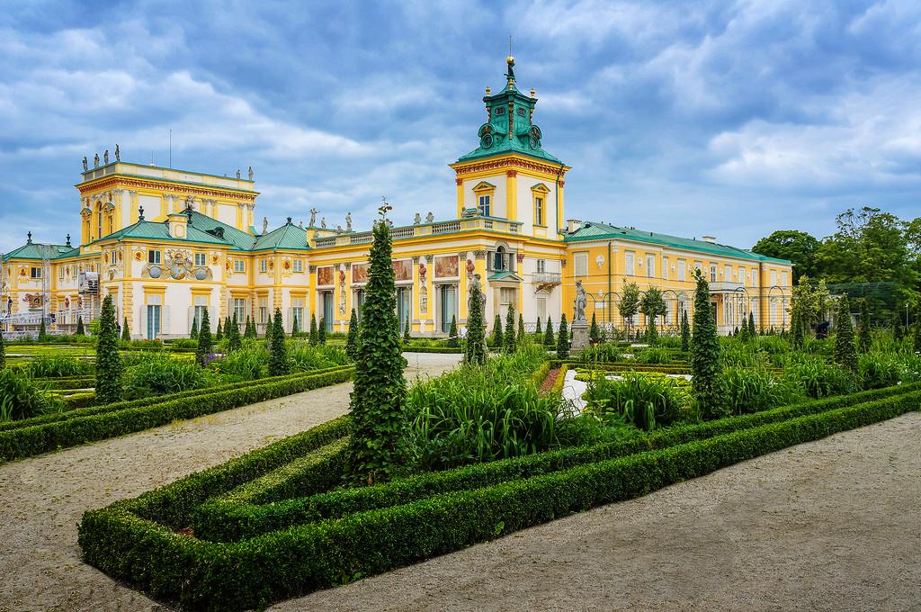 Вилянувский дворец, Варшава, Польша