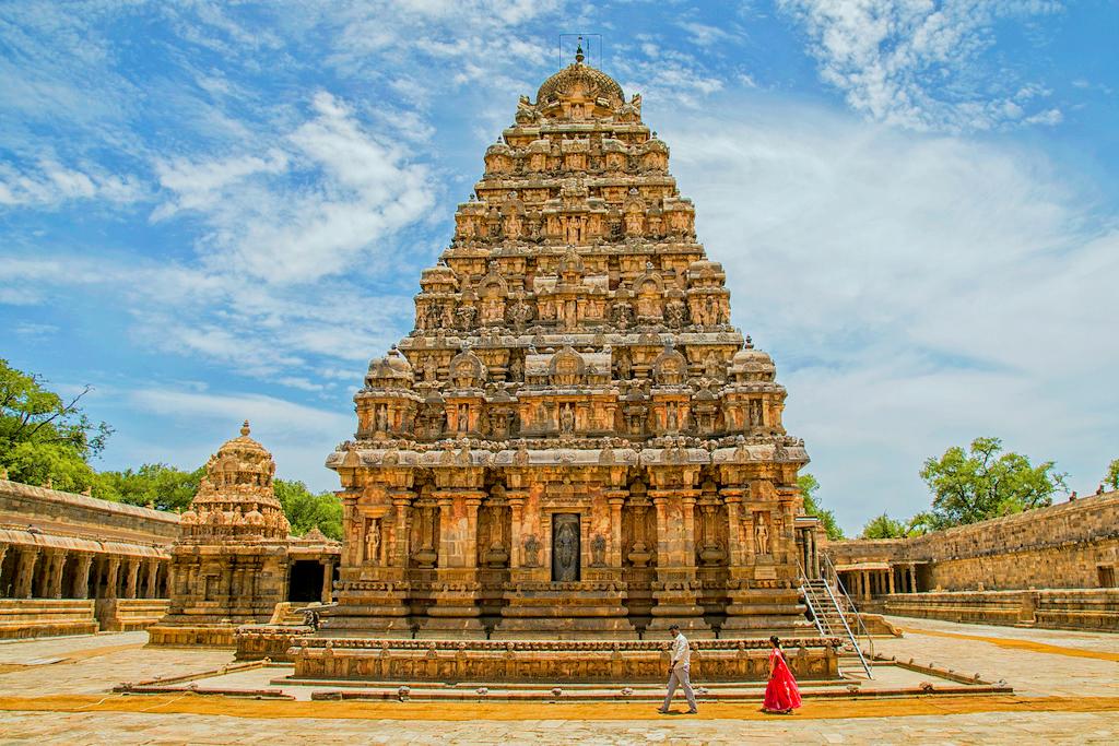 Храм в Южной Индии