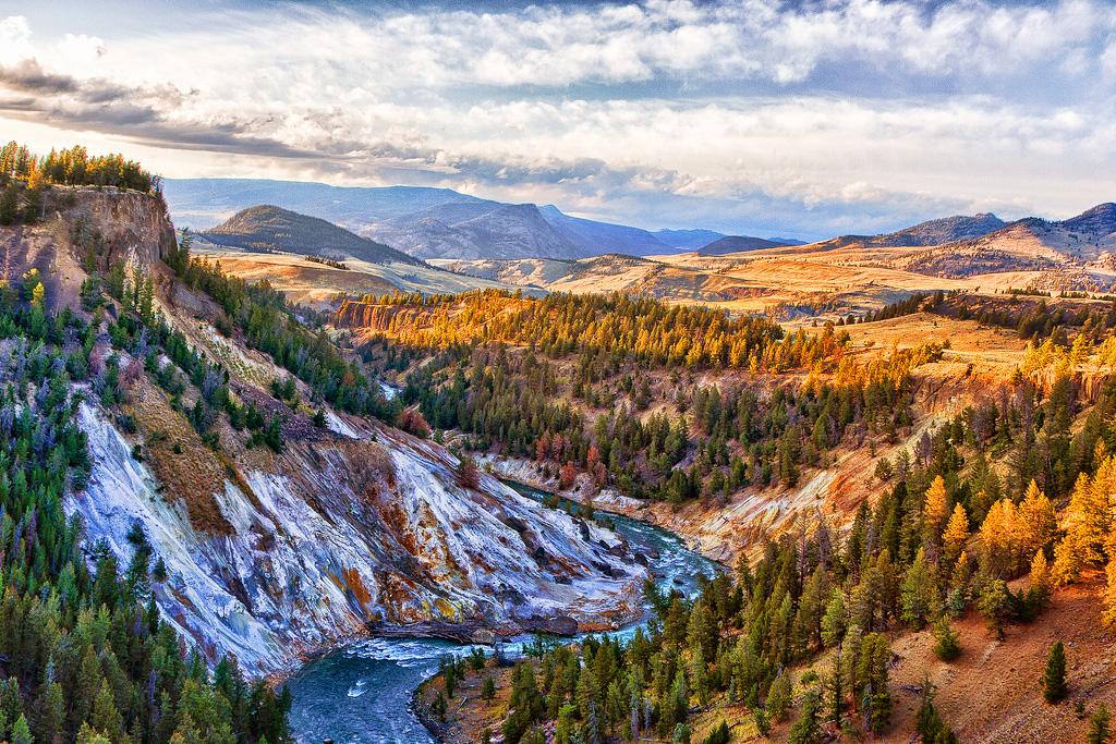 Йеллоустоун, штаты Вайоминг, Монтана, Айдахо
