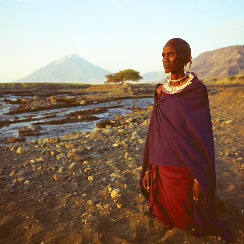 Женщина из племени салей