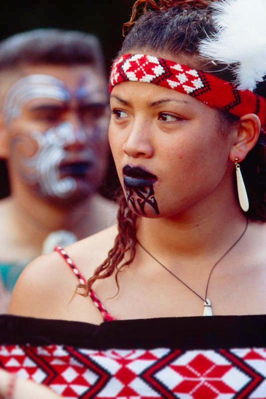 Женщина маори