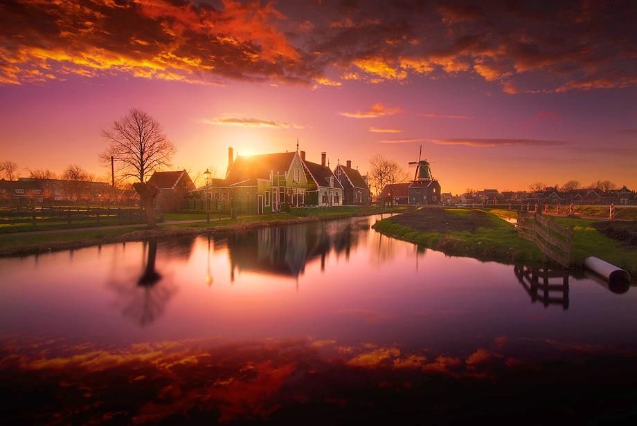 Заансе-Сханс, Нидерланды