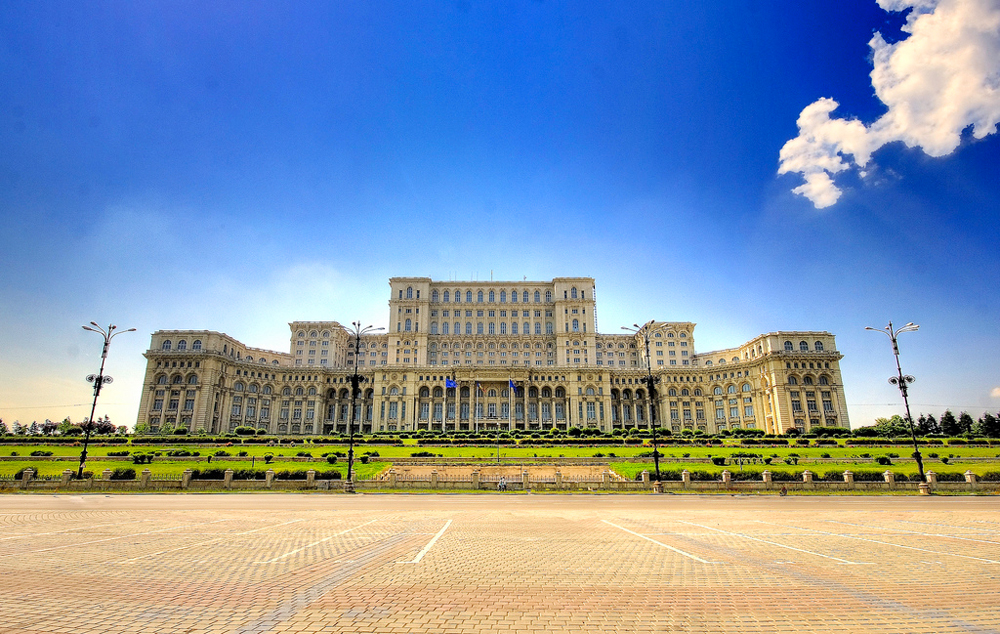 Здание парламента, Бухарест