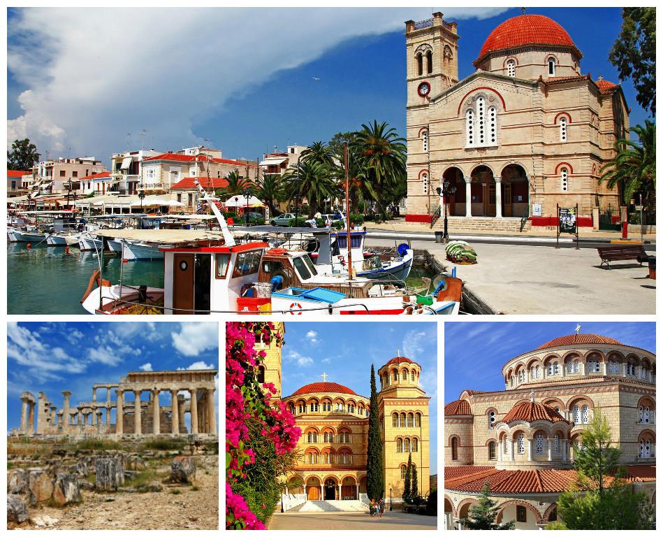 Курортные острова Греции: Эгина