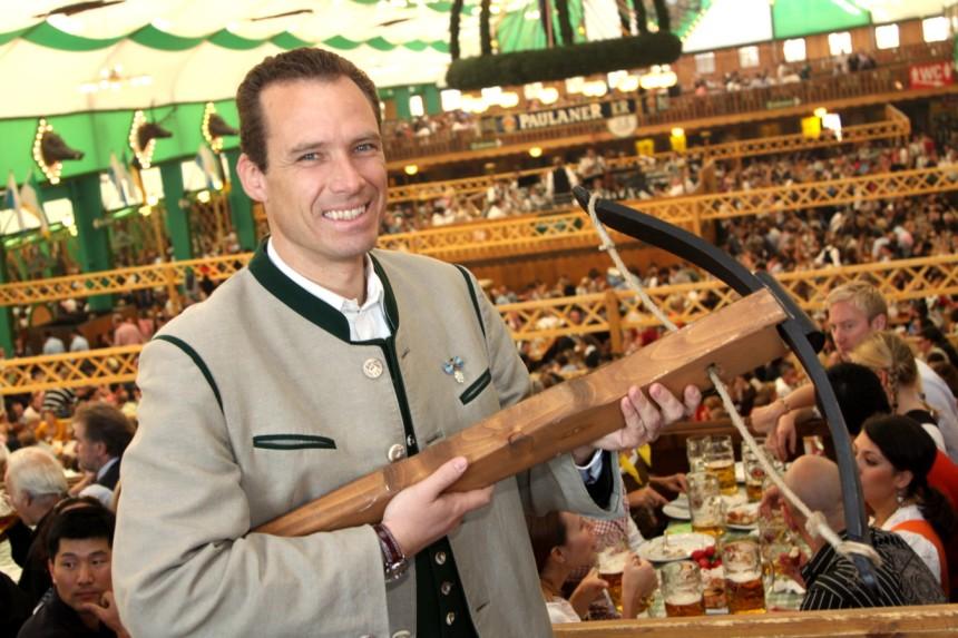 Шатер Armbrustschützen Zelt, Октоберфест