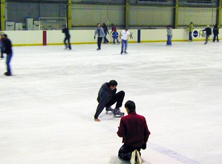 Ледовый каток Атек в Киеве