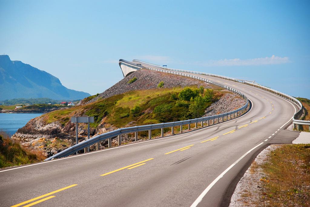 Атлантик роуд в Норвегии