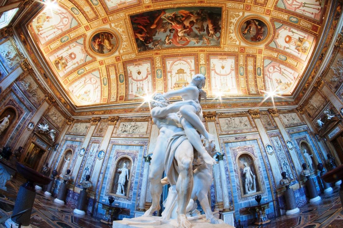 Похищение Прозерпины (Джованни Лоренцо Бернини) в галерее Боргезе