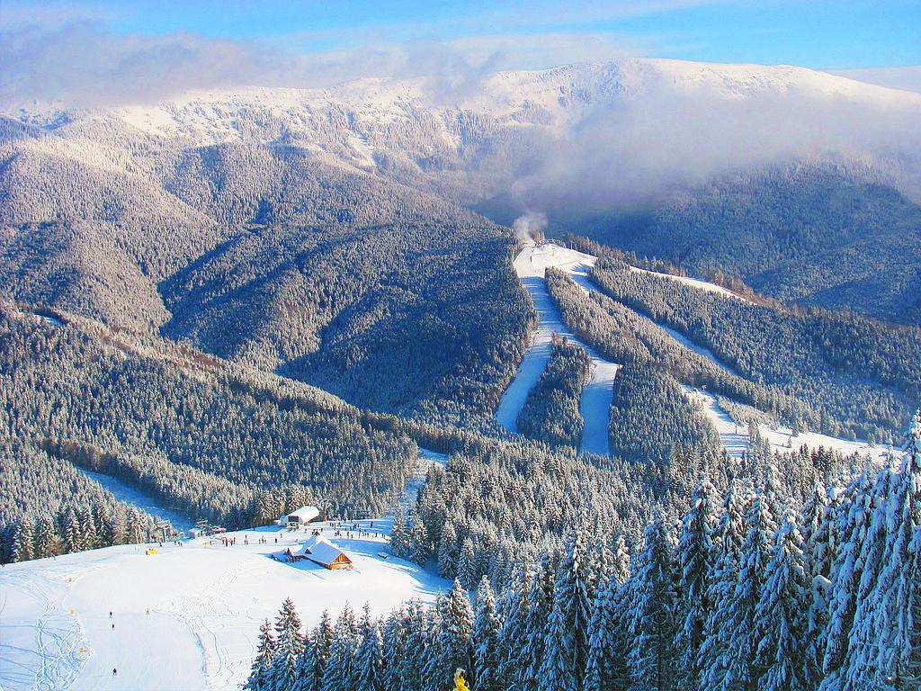 Буковель - лучший горнолыжный курорт в Украине