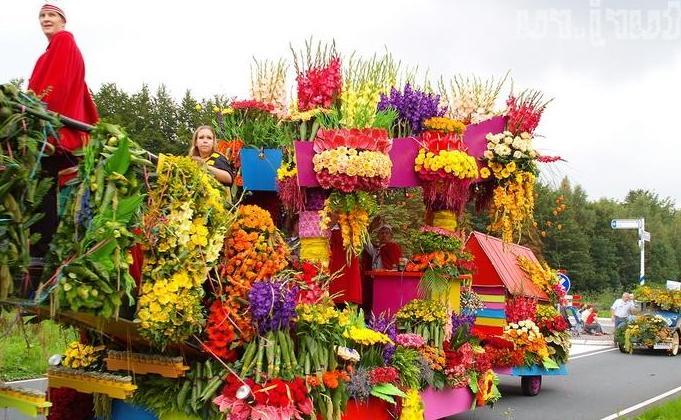 Цветочный фестиваль в Чиангмае, Тайланд