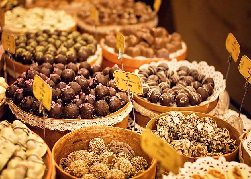 Продукция Львовской мастерской шоколада