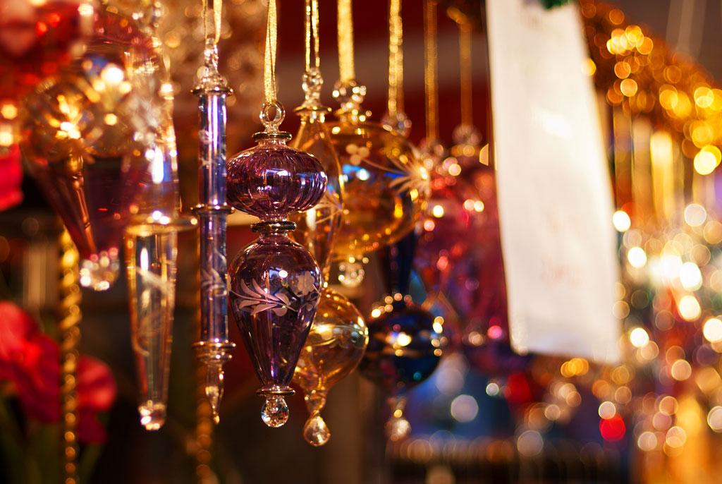 Рождественский рынок в Нью-Йорке