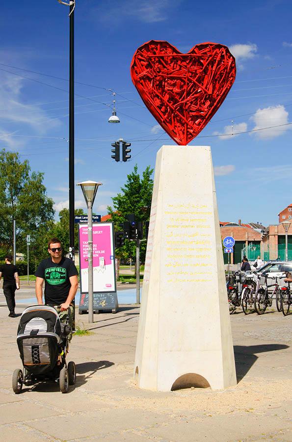 Скульптуры в Копенгагене