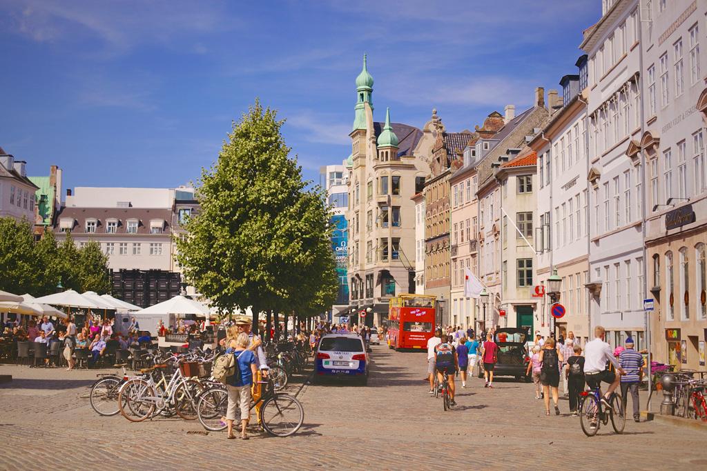 Улицы Копенгагена