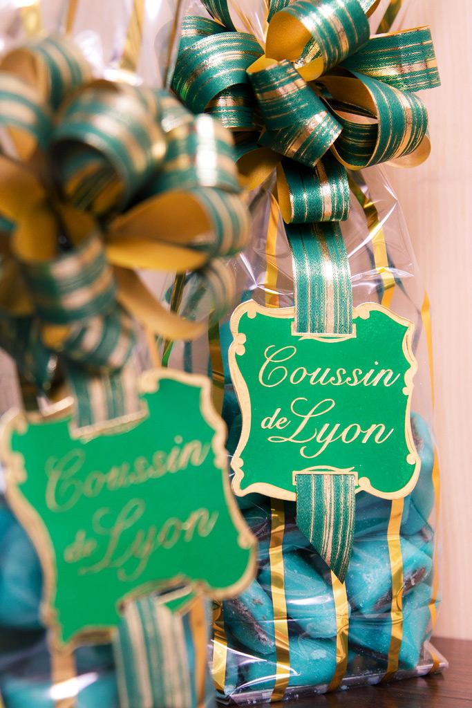 Конфеты Coussin de lyon