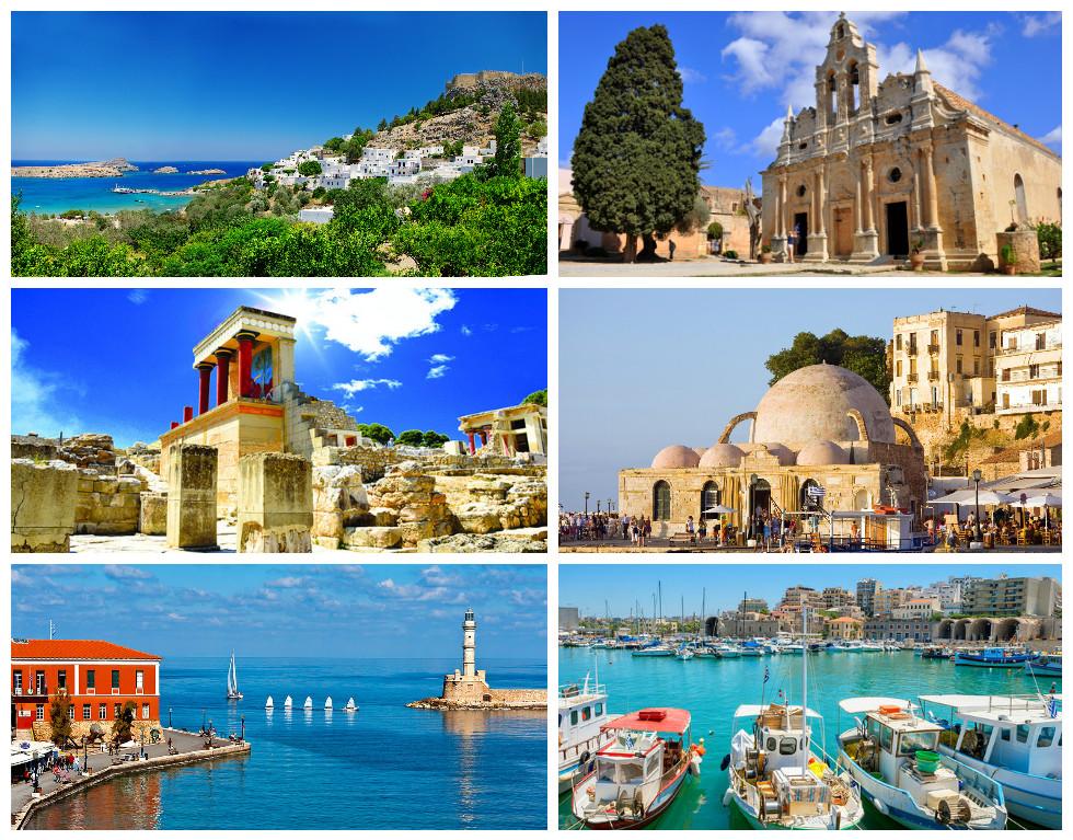 Курортные острова Греции: Крит